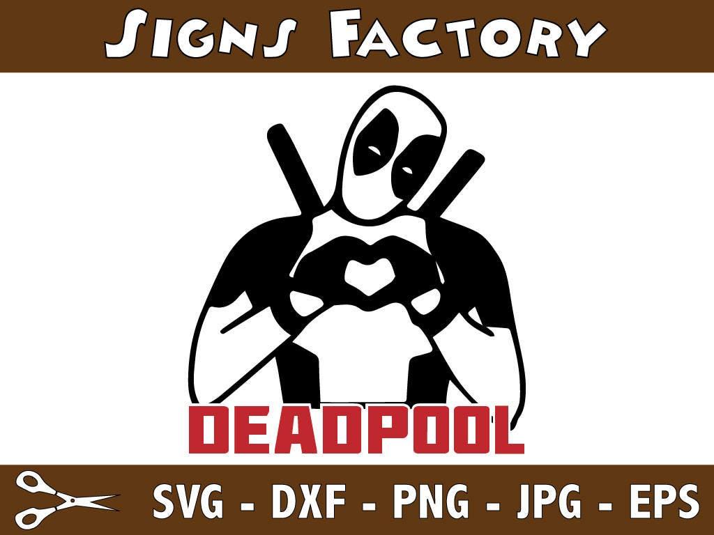 T Shirt Design Software Deadpool Svg Deadpool Decaldxfepspng Superherocricut