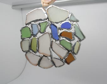 seaglass sun catcher