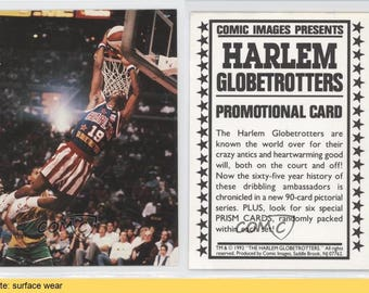 1992-93 Comic Images Promos #NoN Harlem Globetrotters Team Basketball Card