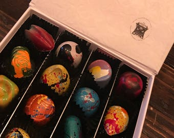 Fairy Tales, 16 chocolates box.  Once upon A Time Collection