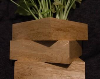 Wooden Desktop Planter