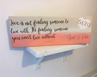Personalised Wedding gift, Personalised gift. Weddings, christenings, Mother's Day,