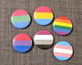 "2 1/4"" Pride Buttons"