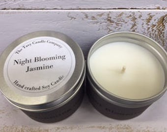Night Blooming Jamsine 170g Tin Candle