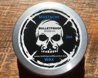 Bulletproof Beard Co.  Mustache Wax 2oz.