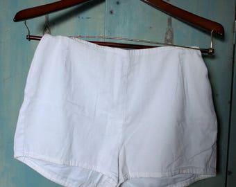 Vintage White Briefs
