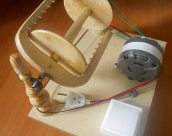 Electric Spinning Wheel Machine handmade