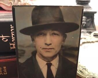 Vintage mobster photograph
