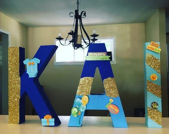 Wooden Decor Letters