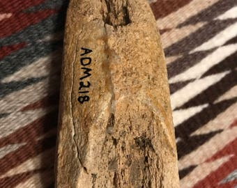 Ancient Native American Bone Scraper