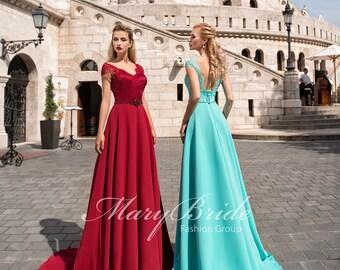 Budapest- Evening dress V-050