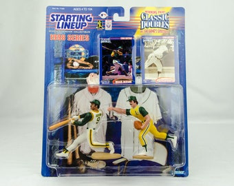Starting Lineup Baseball 1998 Classic Doubles Catfish Hunter Reggie Jackson A's