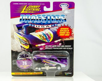 Johnny Lightning Dragsters USA Limited Edition King of the Burnouts 1/64 Diecast