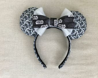 Galactic Star Wars Mouse Ears | Fabric Ears