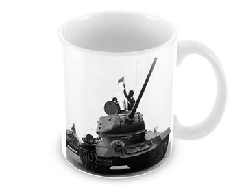 T34 Tank Ceramic Coffee Mug    Free Personalisation