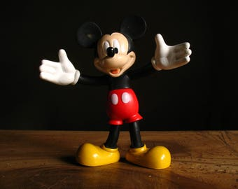 Vintage Rubber Mickey Mouse.  made in the CE, 1980s