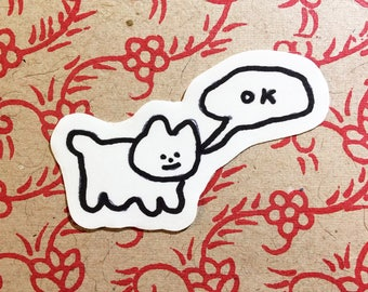 SMALL CAT STICKERS