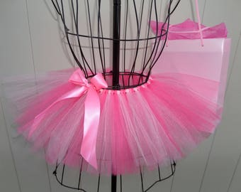 TUTU Skirt for Girls. Sizes 0-5T. Pretty in pink - Fuchsia, Shocking Pink & Pale Pink Tulle -FREE SHIPPING!