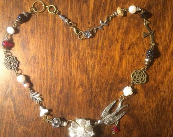 Vintage styled necklace
