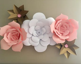 Belle's Blooms Paper Flowers