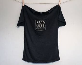 Fearless Photographers T-Shirt - Vintage Black