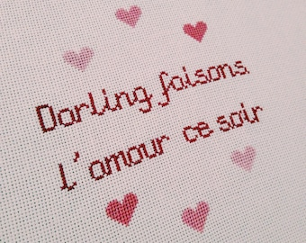 "Embroidery ""Poetic Lovers"""