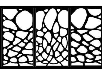 Artistic Steel Driveway Gate - Antoni Gaudi - Metal Wall Art - Handmade