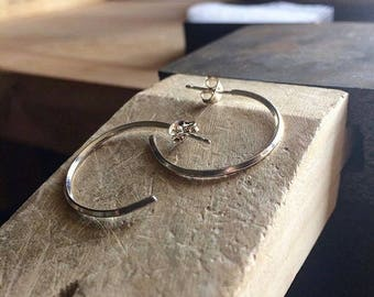 Square Wire Hoops