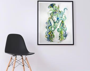 M E D U S A • art print [12x18]
