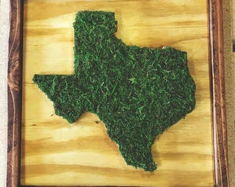 Texas or California (or any state) in Moss