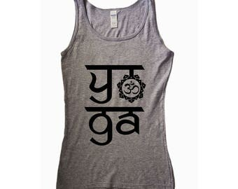 Lotus. Yoga. Yoga Tank. Yoga Shirt. Yoga Clothes. Yoga Clothing. Yoga Top. Yoga Tank Top. Women's Yoga. Yoga TShirt. Namaste. Satsang