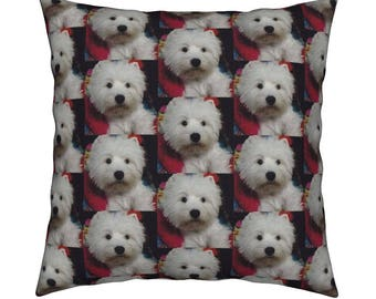 West Highland White Terrier (Westie) Cushion Cover