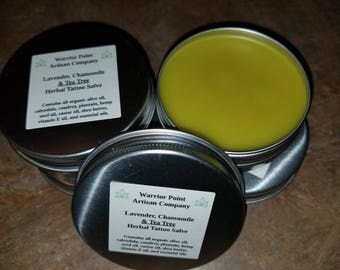 Herbal Tattoo Salve
