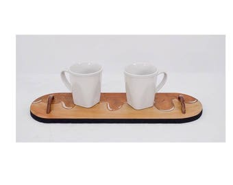 Maple Bacon Donut Small Serving Tray