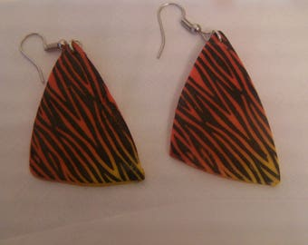 """""Fimo earrings in the heart of Savannah """