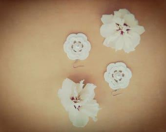 White earrings,#handmade jewelry,#crochet jewelry,#white pearl,#crochet earrings,#chandelier earrings