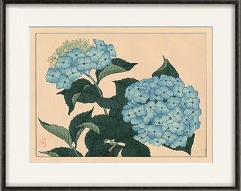 Hydrangea Wall Art hydrangea art | etsy