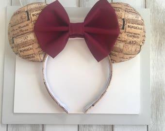 Epcot Food & Wine Festival Ears . Mickey Food and Wine Ears. Wine  Ears. EPCOTInternational Festival of the Arts Ears.