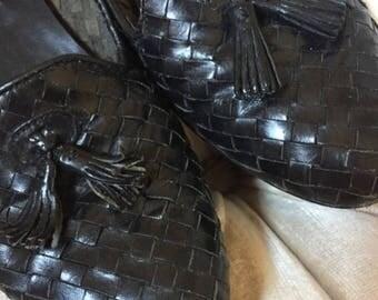 Vintage Black Loafers