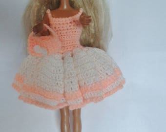 robe de poupée barbie à volants