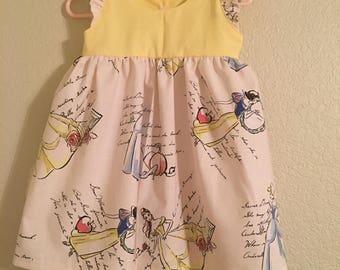 Pretty Princess Flutter Sleeve Dress