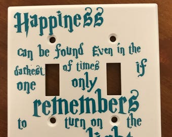 Harry Potter,light switch cover.