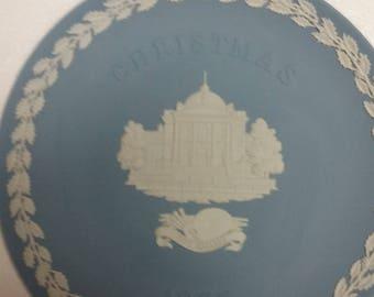 1985 wedgewood jasperware christmas plate