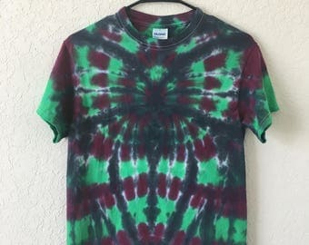 Spider Tie Dye T-Shirt, size SMALL