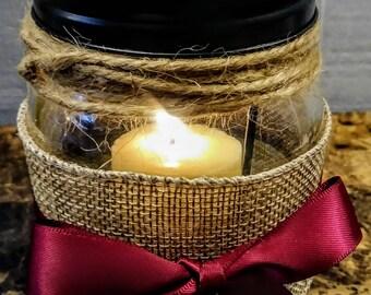 Rustic Mason jar Lantern