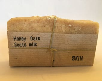 Honey Goats Milk and Oats Soap