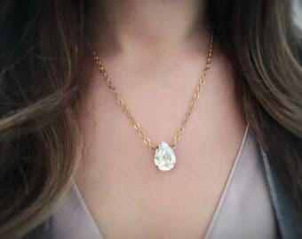 Swarovski Moonlight Crystal Necklace