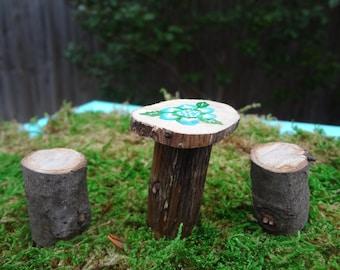 Fairy garden table set