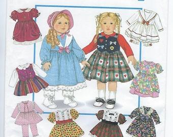 "Simplicity 9381 / 0603 - VINTAGE - 18"" Doll Clothes"