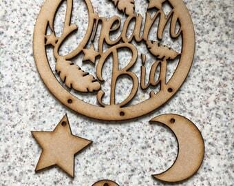 Dream catcher mdf m, ready to paint